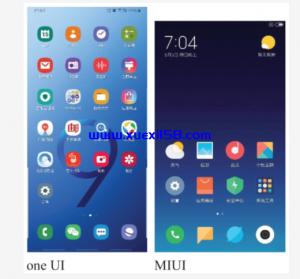 小米手机UI